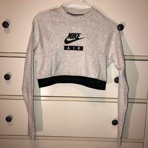 NEW nike crop sweatshirt